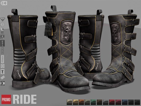 [CA] PROMO RIDE BOOTS GENTS