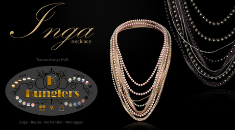 KUNGLERS - Inga necklace