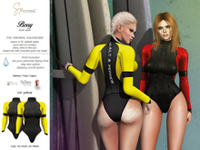 S&P Berry wet suit - yellow (wear to unpack)