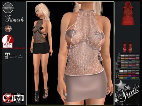 Stars - Maitreya, Legacy, Hourglass - Penelope2 dress
