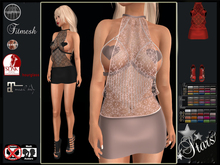 Stars - Maitreya, Legacy, Hourglass - Penelope2 dress