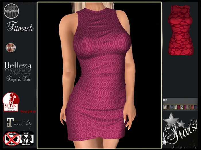 Stars - Maitreya, Legacy, Belleza, Hourglass - Reira dress