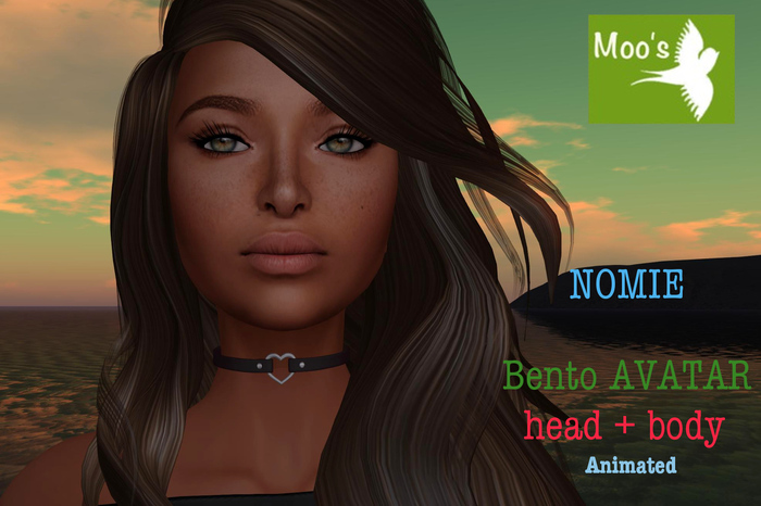 NOMIE FULL BENTO AVATAR animated (Head & Body)