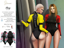 S&P Berry wet suit - Hawaii (wear to unpack)