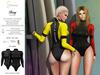 S&P Berry wet suit - black (wear to unpack)
