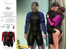 S&P Drax wet suit - red (wear to unpack)