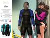 S&P Drax wet suit - mint (wear to unpack)