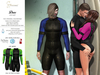 S&P Drax wet suit - green (wear to unpack)