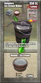 *Caja/Box* - Heladera / Ice Cream Maker [G&S]