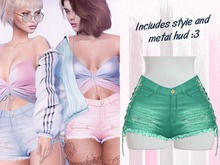 Lunar - Chanty Shorts - Spectra Green  (Boxed)