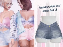 Lunar - Chanty Shorts - Mirage Blue