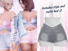 Lunar - Chanty Shorts - Grey