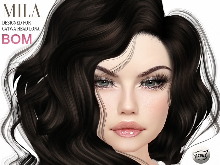 """DREAM INK """"Catwa Mesh Head Appliers MILA"""" Special Creation 
