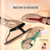 REIGN.- BREEZE SANDALS- FATPACK