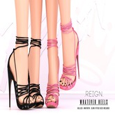 REIGN.- WHATEVER HEELS- CUSTOMIZATION PACK