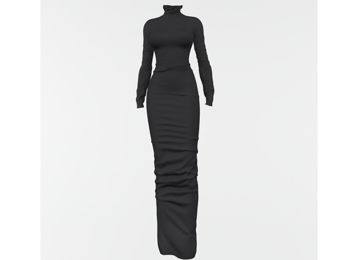 RAPTURE-Dress Mileena-Dark Mineral