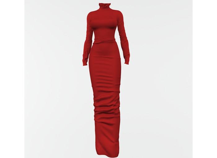 RAPTURE-Dress Mileena-Foxy Red