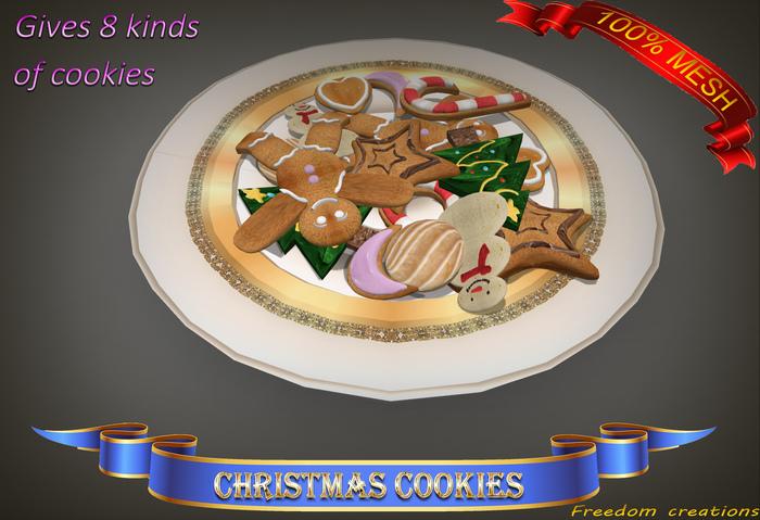 Christmas cookies 2.0-Freedom creations