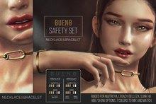 BUENO-Safety Set Necklace/Bracelet-Fatpack