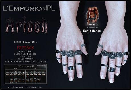 L'Emporio&PL::*Arioch*:: Rings Set-Legacy m (1.1 -