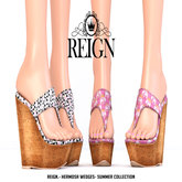 REIGN.- HERMOSA WEDGES- SUMMER COLLECTION