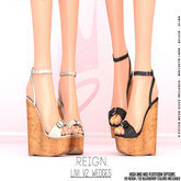 REIGN.- LIVI WEDGES V2- Super Pack (Mid and High Feet Included)