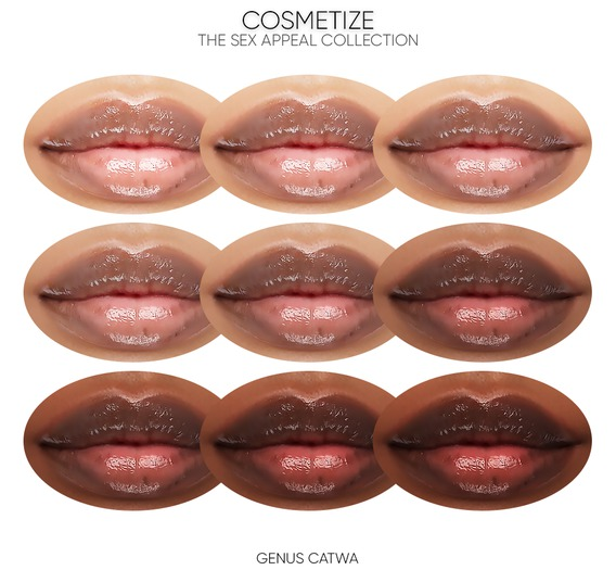 Cosmetize / The X Appeal Collection / Genus Catwa