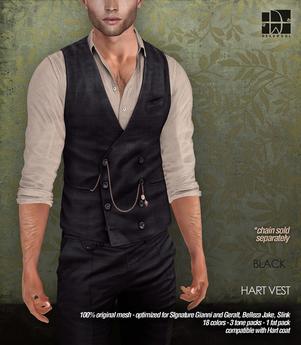 [Deadwool] Hart vest - black