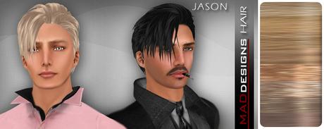 MADesigns HAIR ~ JASON ~ Dark Blonde
