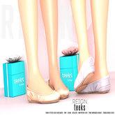 REIGN.- TEEKS- FATPACK, FLATS, Maitreya, Belleza, Slink, Flatfeet, shoes