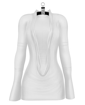 Natasha Crowl Mini Dress — Dove