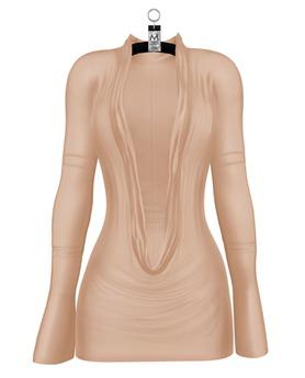 Natasha Crowl Mini Dress — Nude