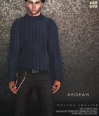 [Deadwool] Kouyou sweater - aegean