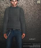 [Deadwool] Kouyou sweater - army