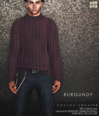 [Deadwool] Kouyou sweater - burgundy
