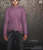 [Deadwool] Kouyou sweater - cassis