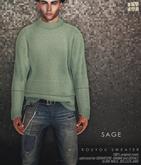 [Deadwool] Kouyou sweater - sage