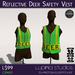 Deer Safety Vest (Boxed) - Lupinia Studios