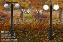 [NB] ~ Park Lamp (boxed)