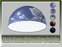 Mesh Winter Skybox-Dome by Felix max. 64x64m=4 Li copy-mody