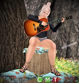 ::R&P::Pose-female guitar girl