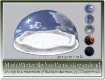 Mesh Winter Skybox-Dome +Wall max. 64x64m=37 Li copy-mody