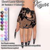 + Kamiri + Short Lace Gloves 20 colors + 1 colorable(ADD ME)