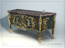 Commode en laque japonaise -C&G-