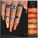 KOSMETIK // Nail Applier // Orange Sunrise OMEGA
