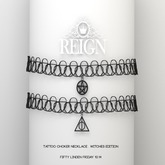 REIGN.- Tattoo Choker Necklace- Witches Edition