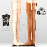 REIGN.- MAGGIE BOOTS- FATPACK