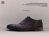[Deadwool] Oxford shoes - aubergine