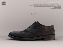[Deadwool] Oxford shoes - black