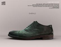 [Deadwool] Oxford shoes - emerald